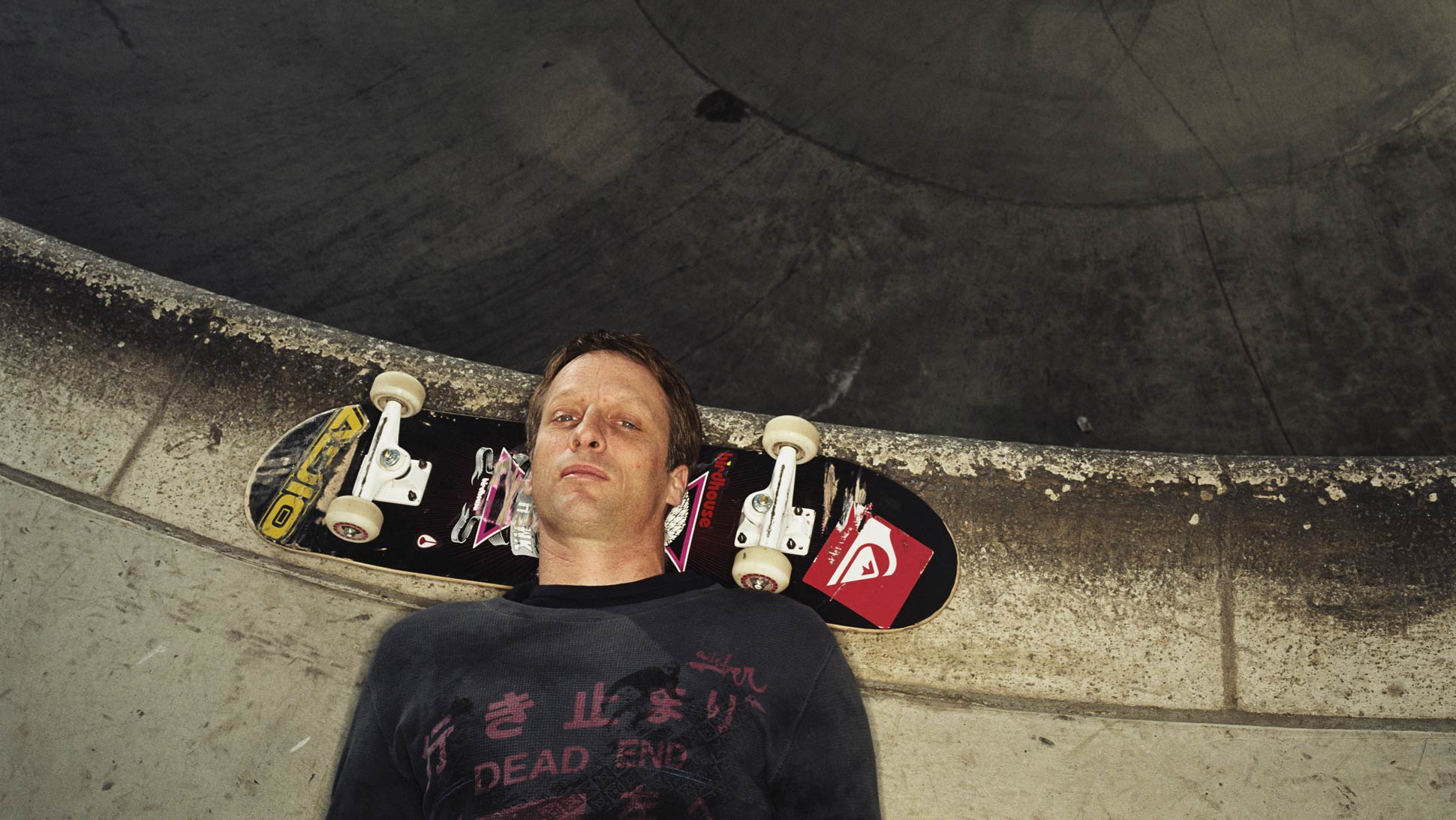 Tony Hawk - Photo by Kevin Zacher
