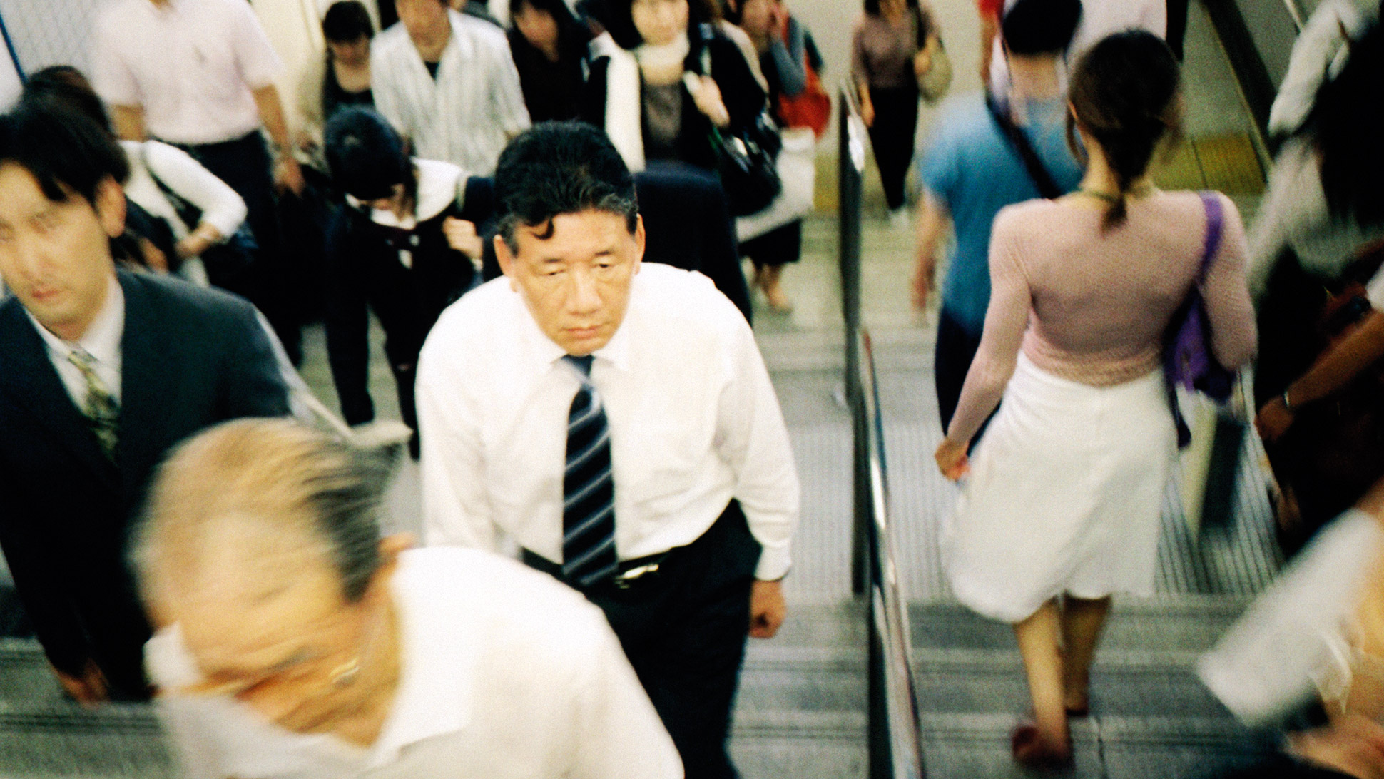 While the plight of the salaryman  may seem unattractive by Western  standards, it's an esteemed, honorable, often lifelong commitment in Japan.
