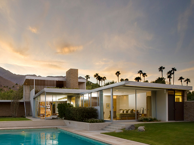 Kaufmann House, Palm Springs, California designed by Richard Neutra, 1946