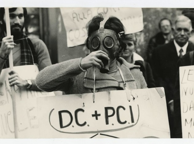 Demonstration against the Historic Compromise, alliance of the Christian Democracy (DC) and the Italian Communist Party (PCI), Rome, 1970s © Team Editorial Services/Alinari