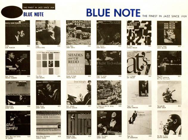 blue note liner
