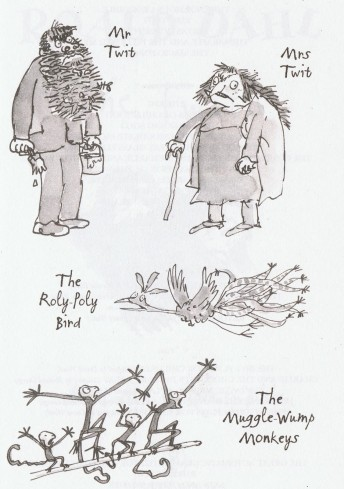the-twits-muggle-wump-muggle-wump-family-quentin-blake-roly-poly-bird-illustations