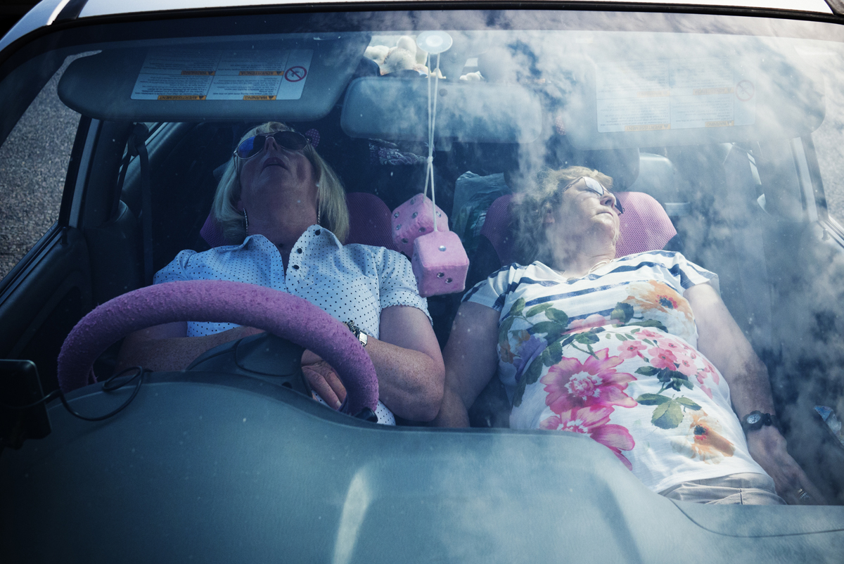 Sleeping grannies by Mike O'Meally