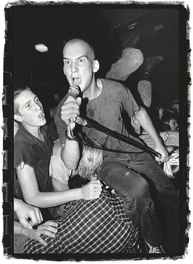 Ian Mackaye of Minor Threat, Washington DC, 1982.
