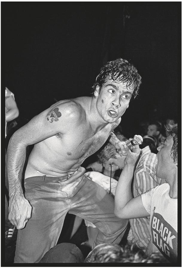 Henry Rollins of Black Flag, 1982.
