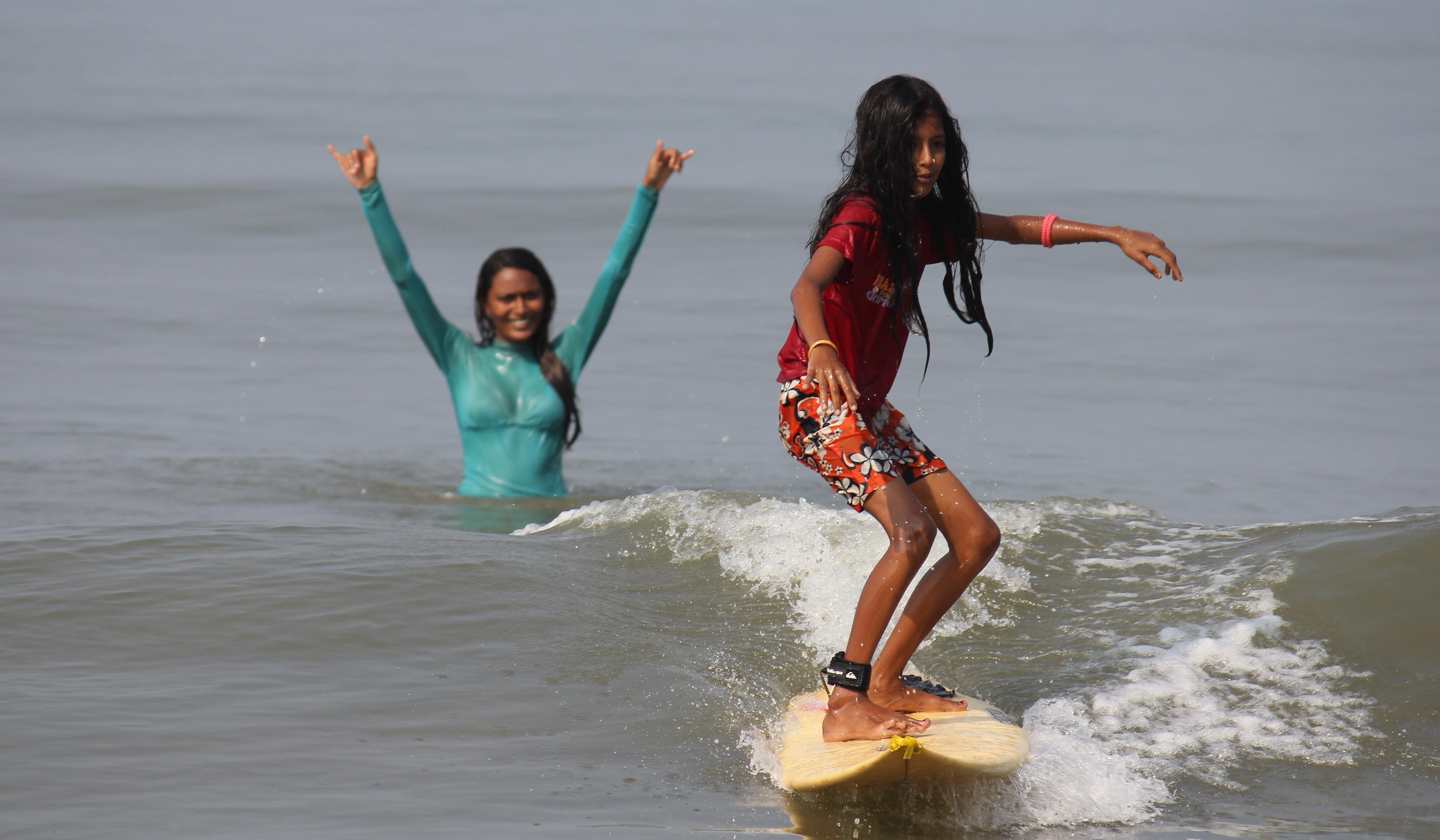 Meet Ishita Malaviya India S First Female Surfer