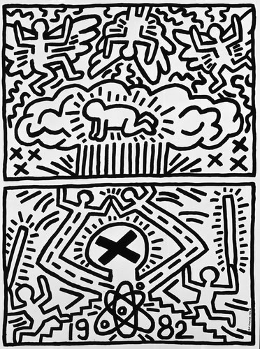 Keith Haring radiantchrist_7