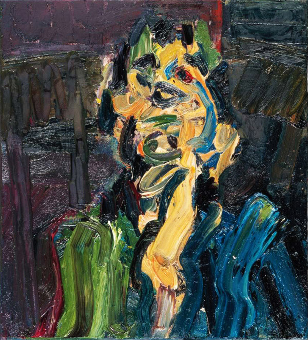 Painting by Frank Auerbach