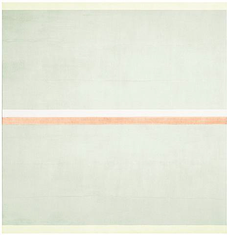 Painting by Agnes Martin.