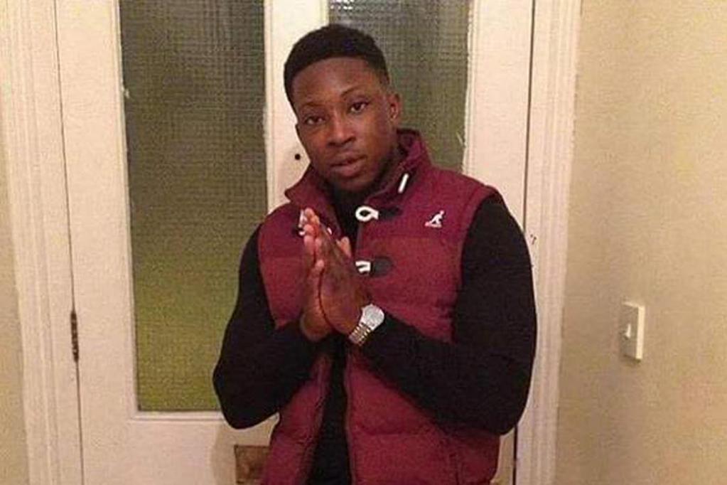 Victim Moses Fedairo, aged 25.