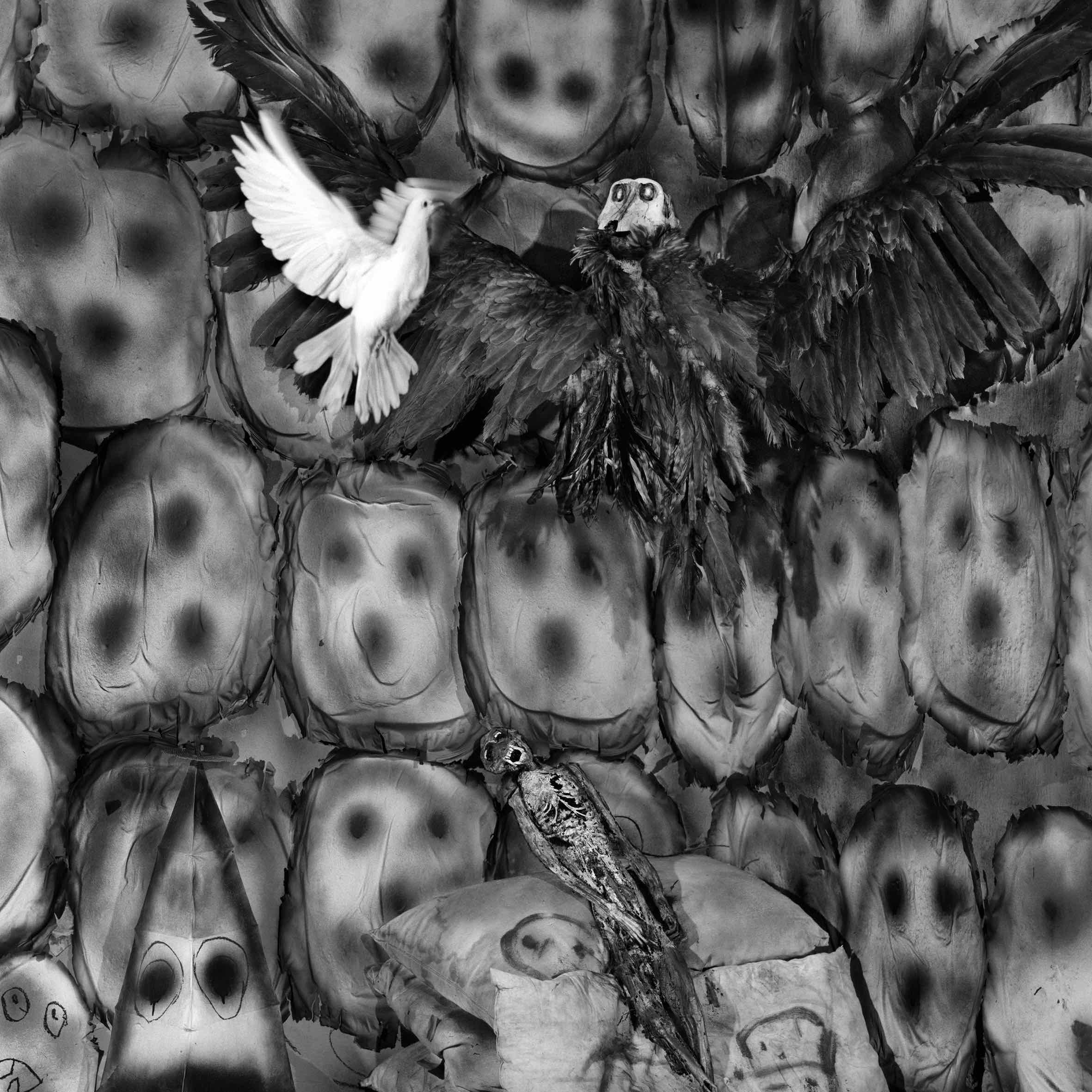 Good and Evil, 2009, courtesy Roger Ballen