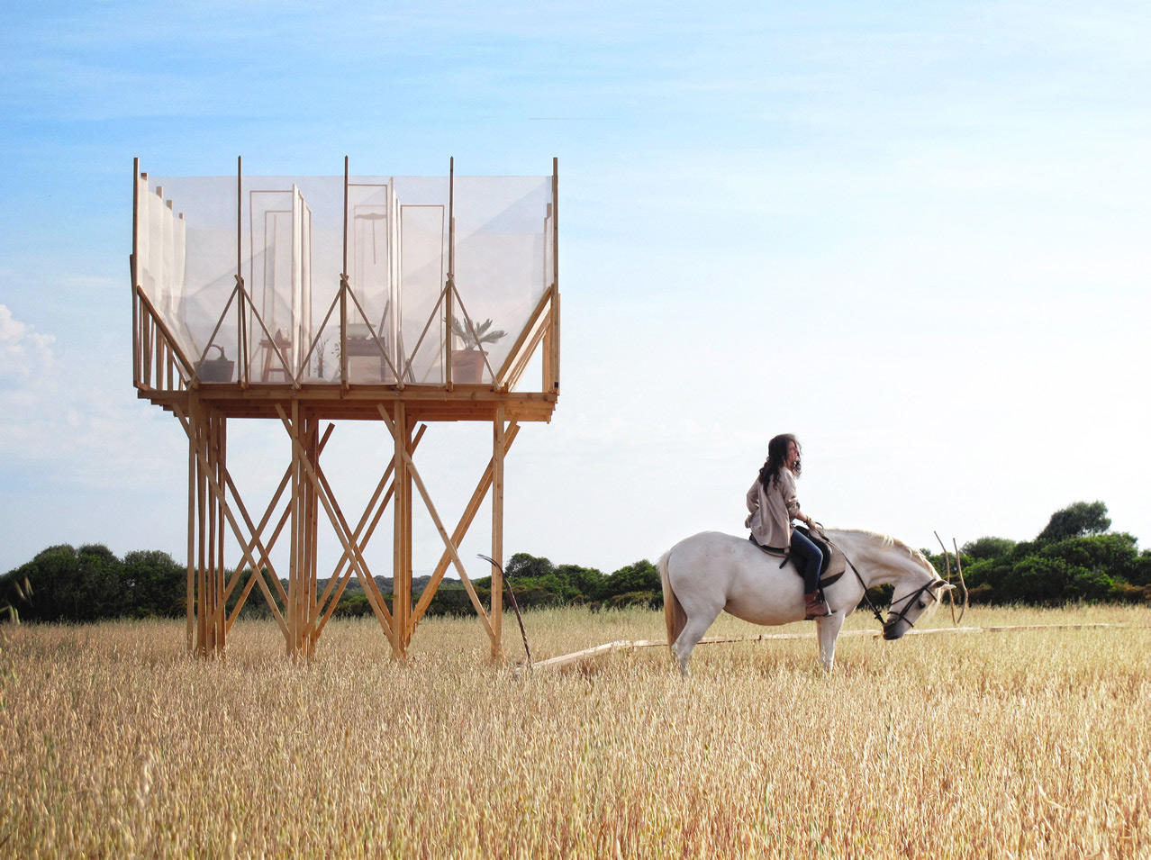 Gartnerfuglen Architects & Mariana De Delás, Photography by Gartnerfuglen Architects & Mariana De Delás, fromThe New Nomads,Copyright Gestalten 2015