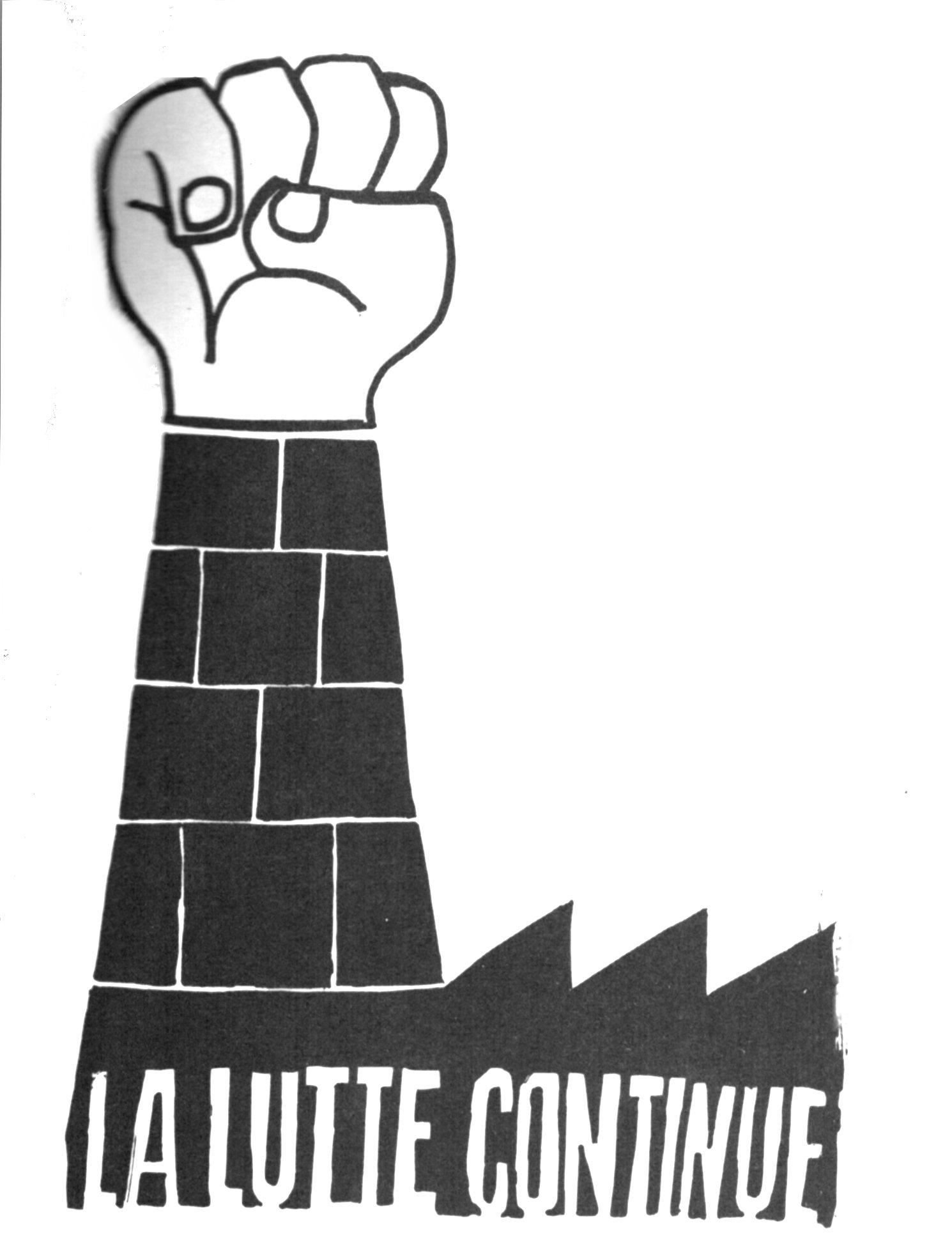 mai 1968 La lutte continue
