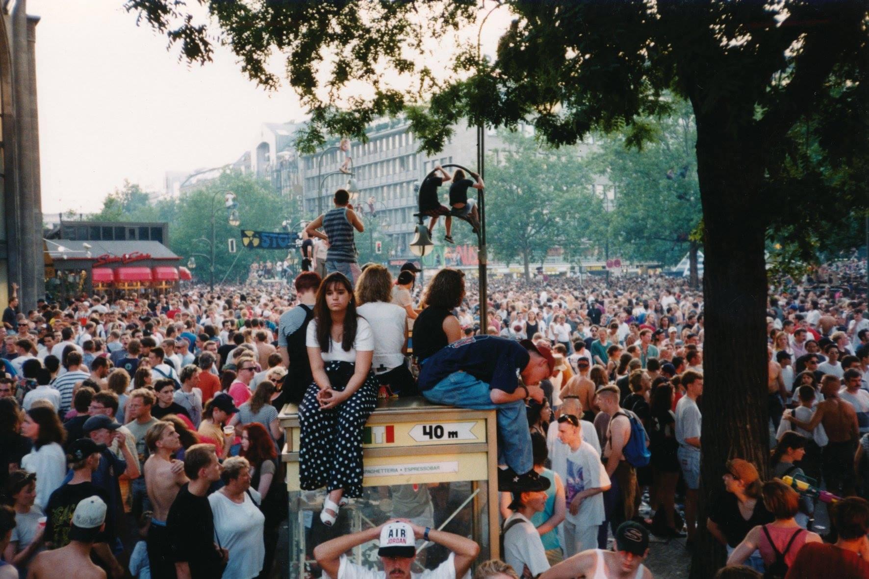 Technoparade, Berlin, 1995. Tilman Brembs.