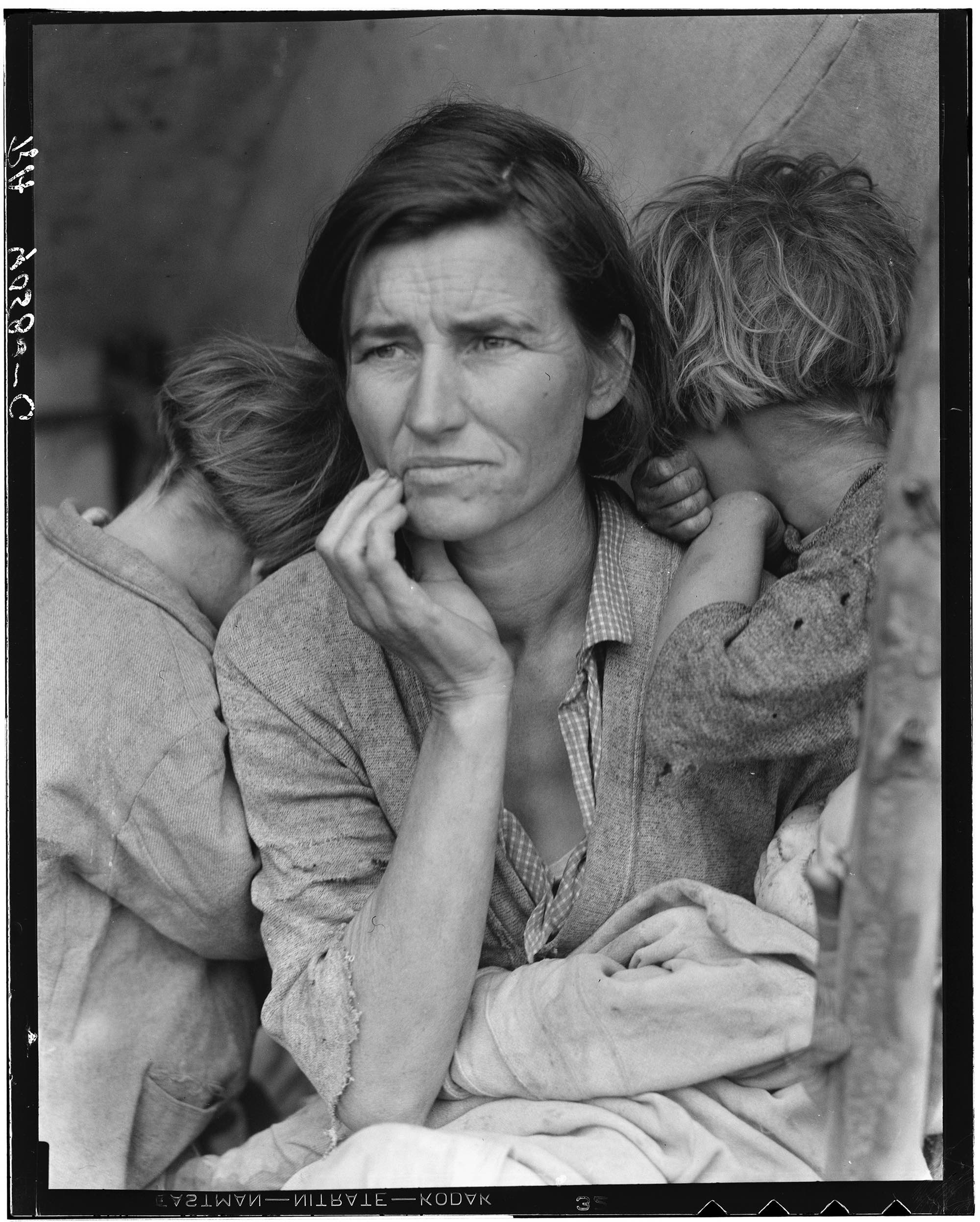 Photo: Migrant Mother (1936); Dorothea Lange