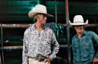 Coral Brown rodeo riders