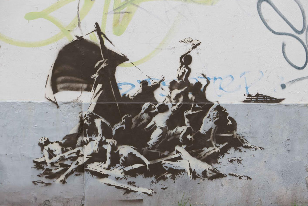 We're not all in the same boat - Banksy
