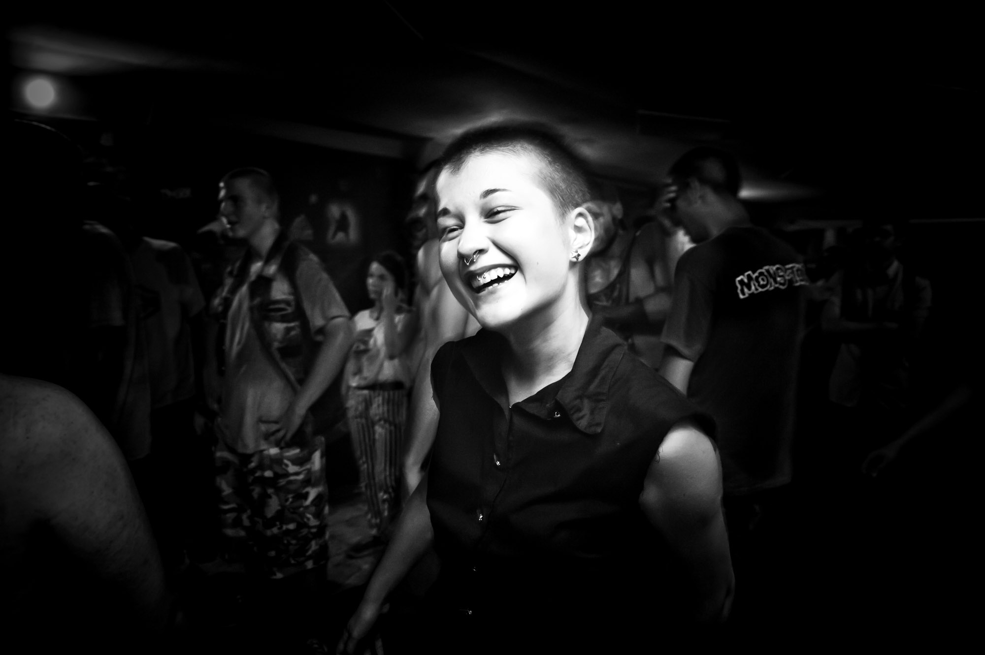 "Anika Jorjadze is a 15-year-old Georgian who discovered Punk music last year. ""Punk is a culture and I like it,"" she says. ""There aren't many people who listen to this music, but I find myself in the lyrics of punk rock songs. It has energy, rhythm..."""