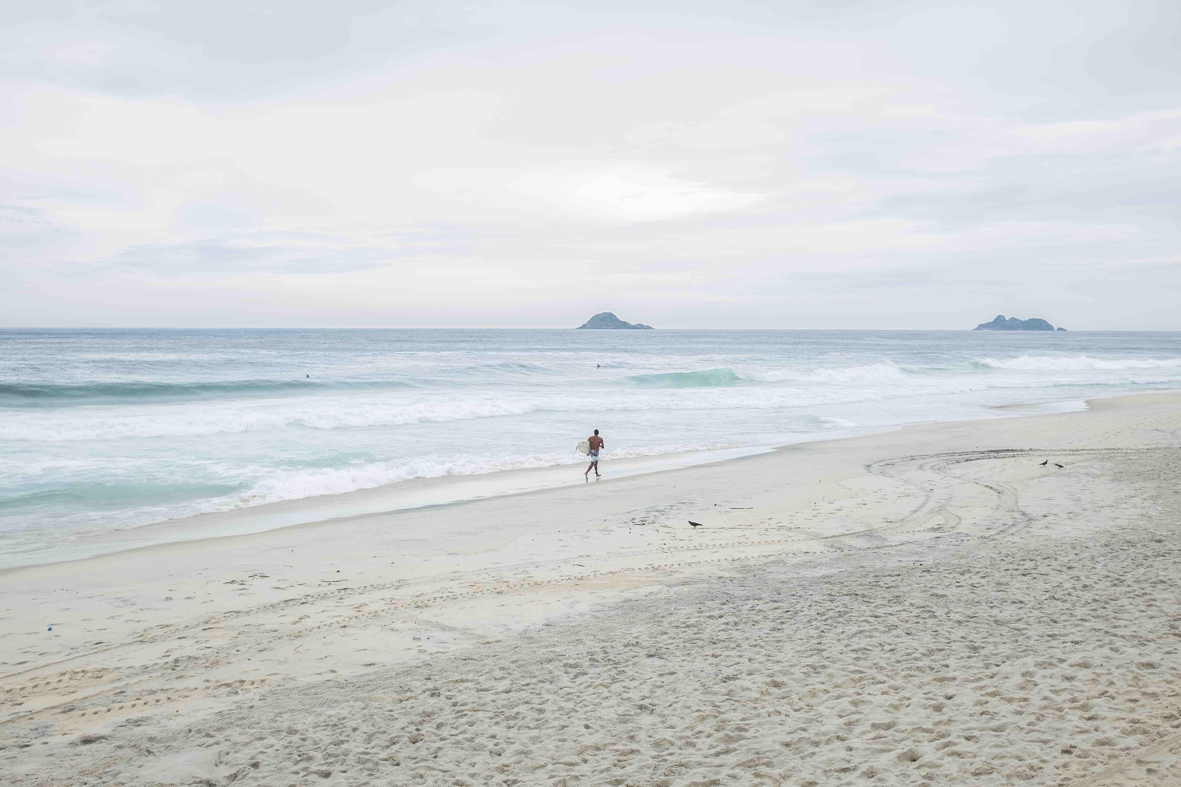 São Conrado beach.