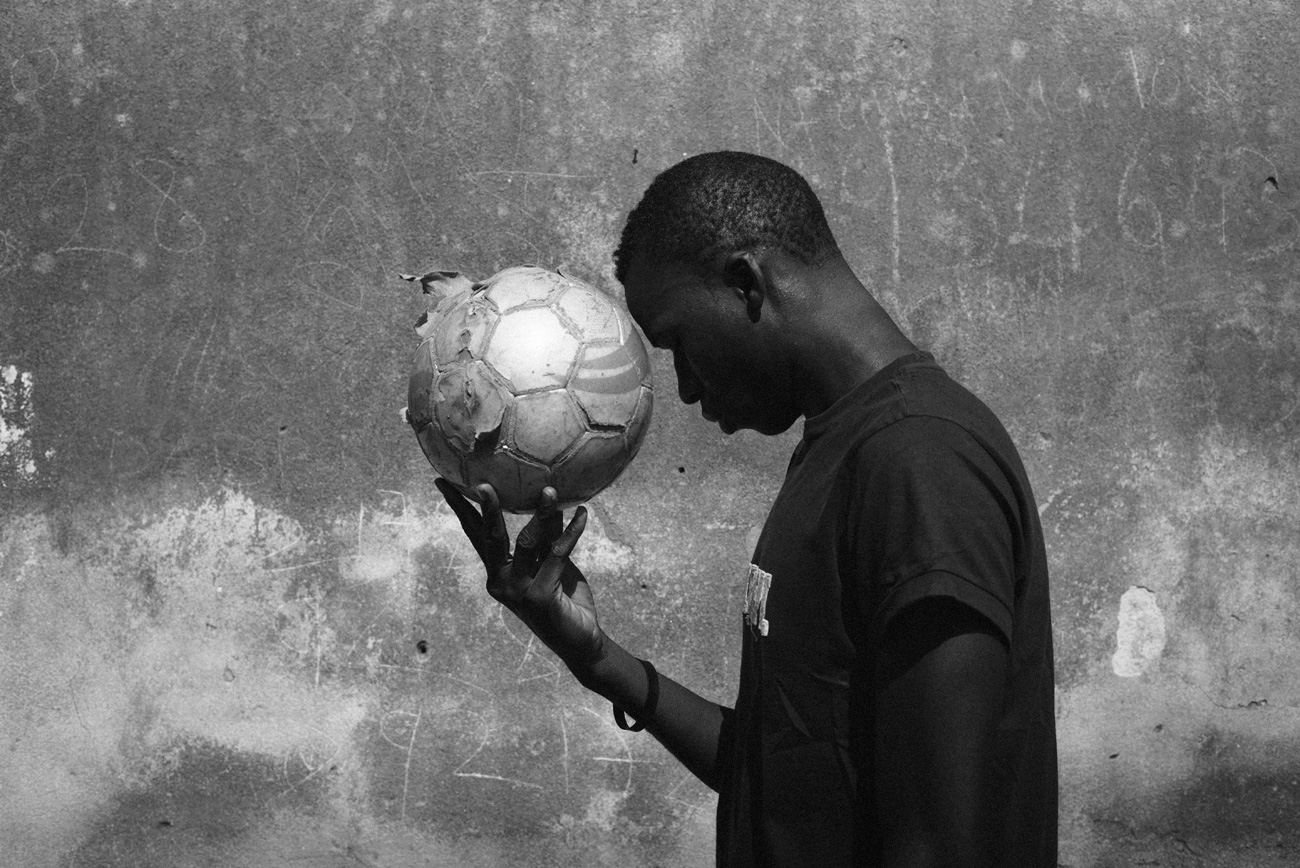 Y. 17 years old from Mali. The Soccer Player.