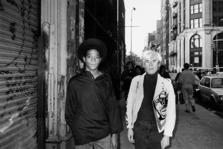 Jean-Michel Basquiat & Andy Warhol,