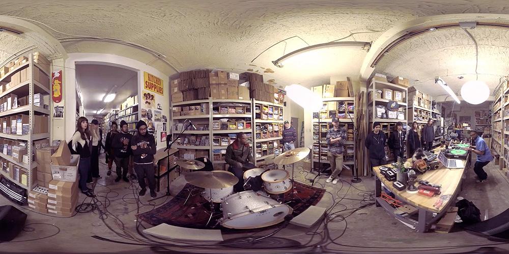 Video: Stones Throw Records' 360-degree virtual reality