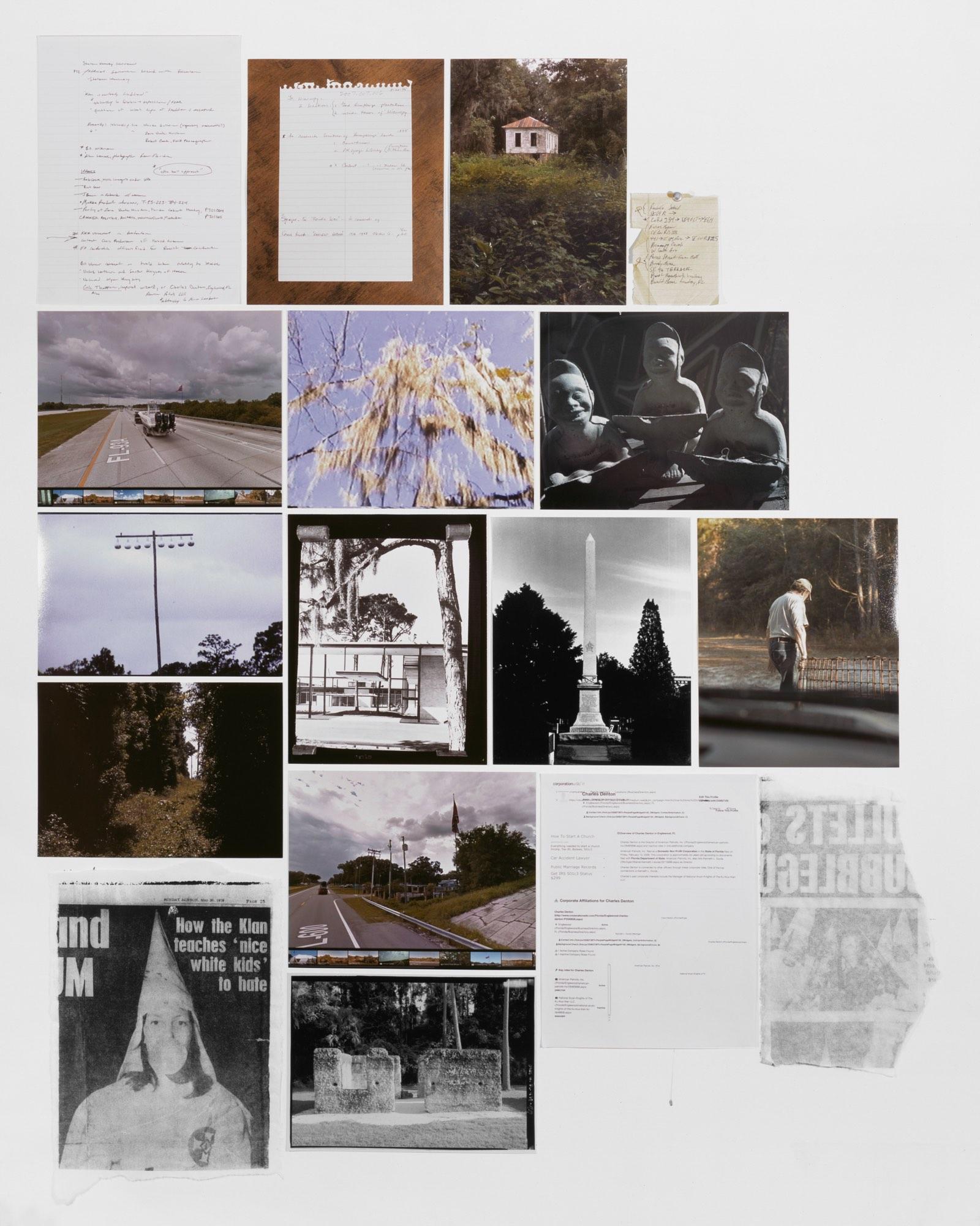 Atlas 4, Phantom Documents, Invisible Monuments, 40 x 50 inches, Digital pigment print, 2015