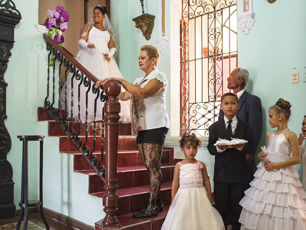Camaguey, Cuba 2015. Book 'Cuba, La Lucha'.