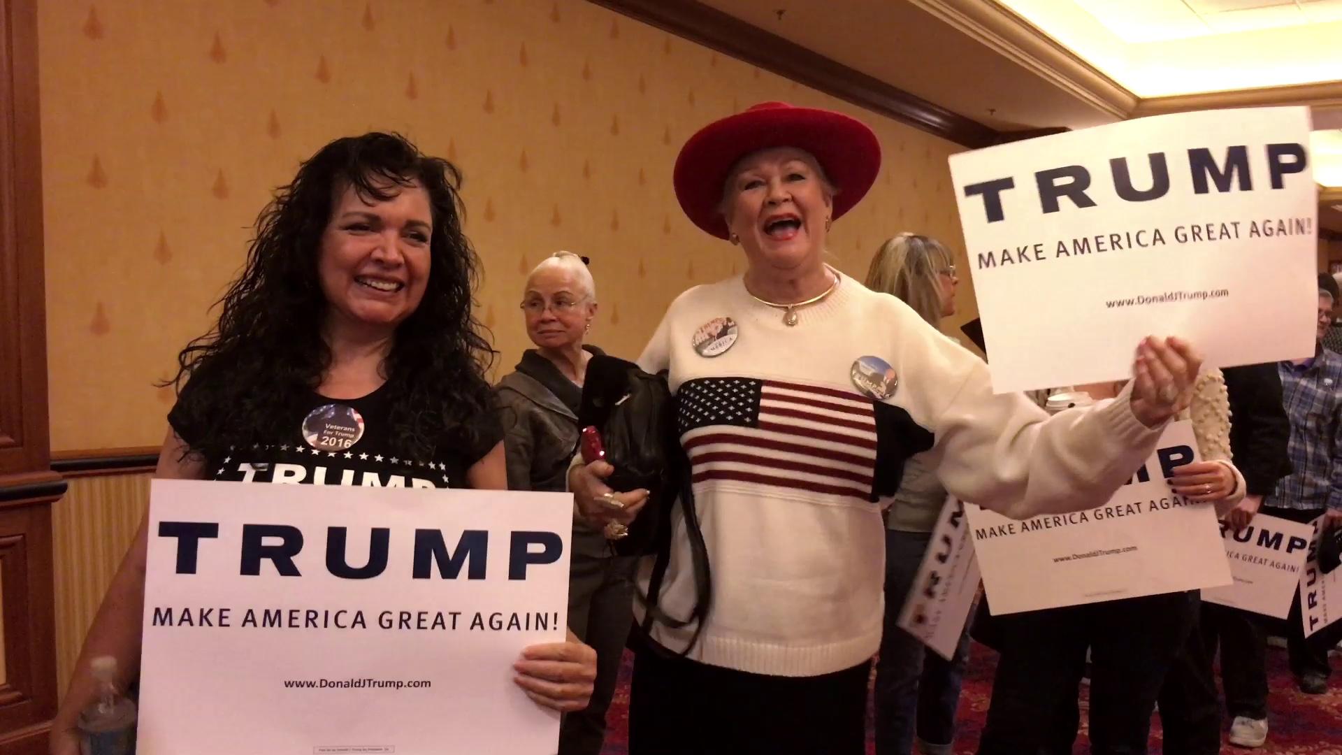 Trump supporters love Trump