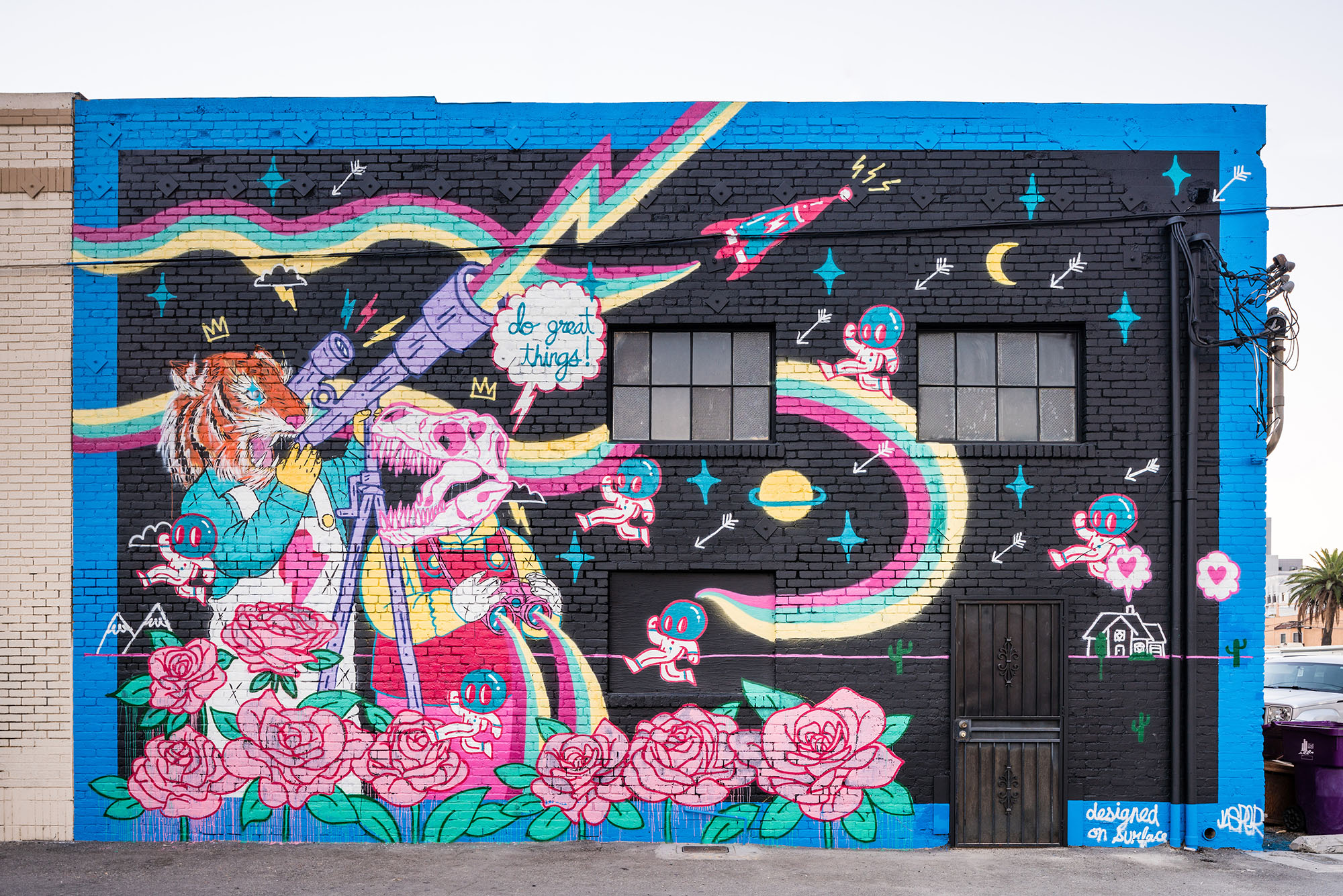 Photo: Jasper Wong / Mural: Jasper Wong