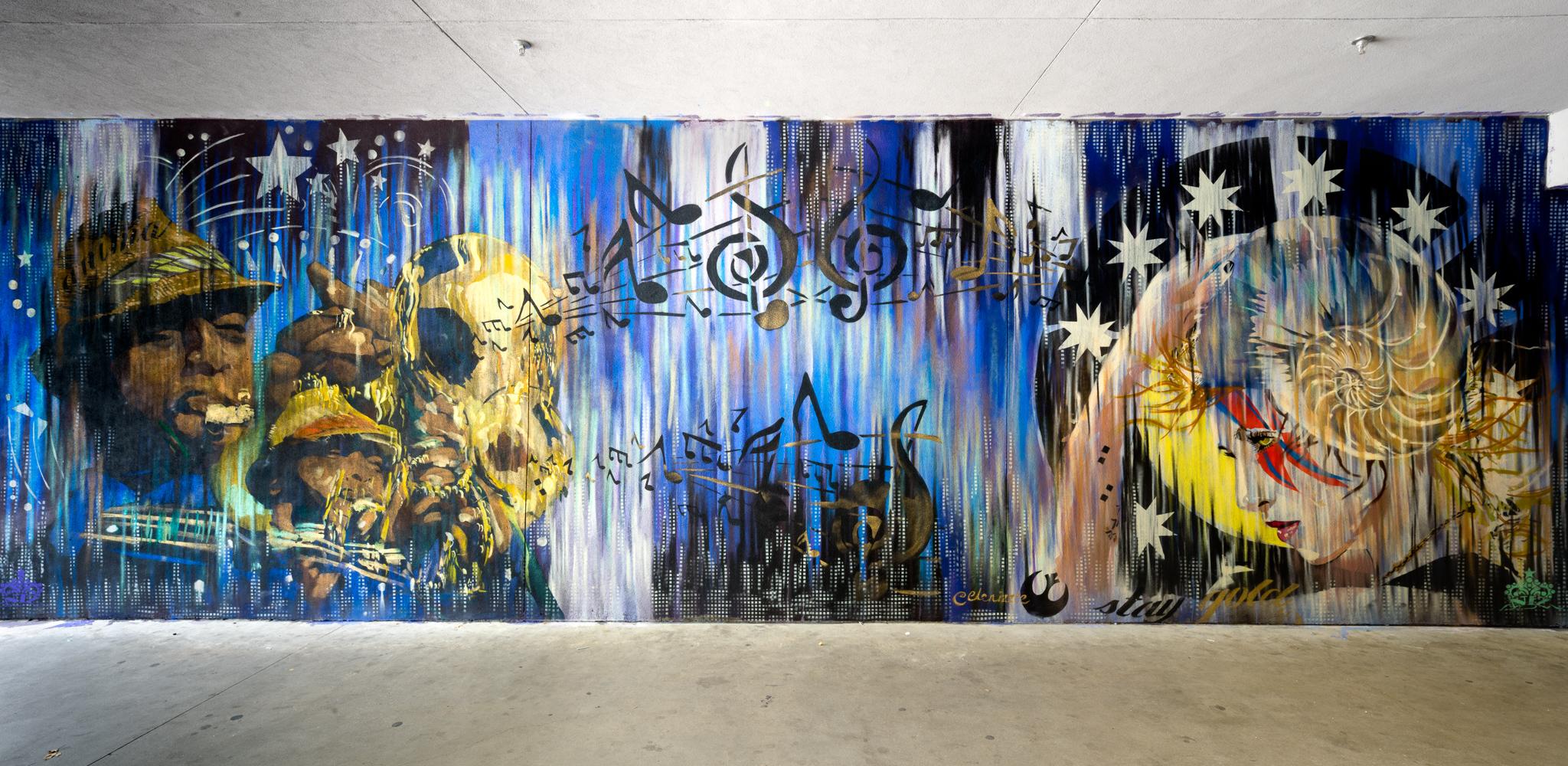 Photo: Jasper Wong / Mural: 'Niz'