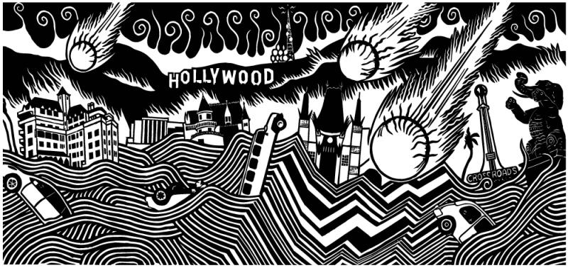 'Hollywood Dooom' by Stanley Donwood