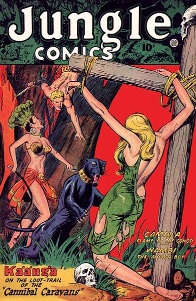 Jungle Comics #99, 1948. (Copyright expired.)