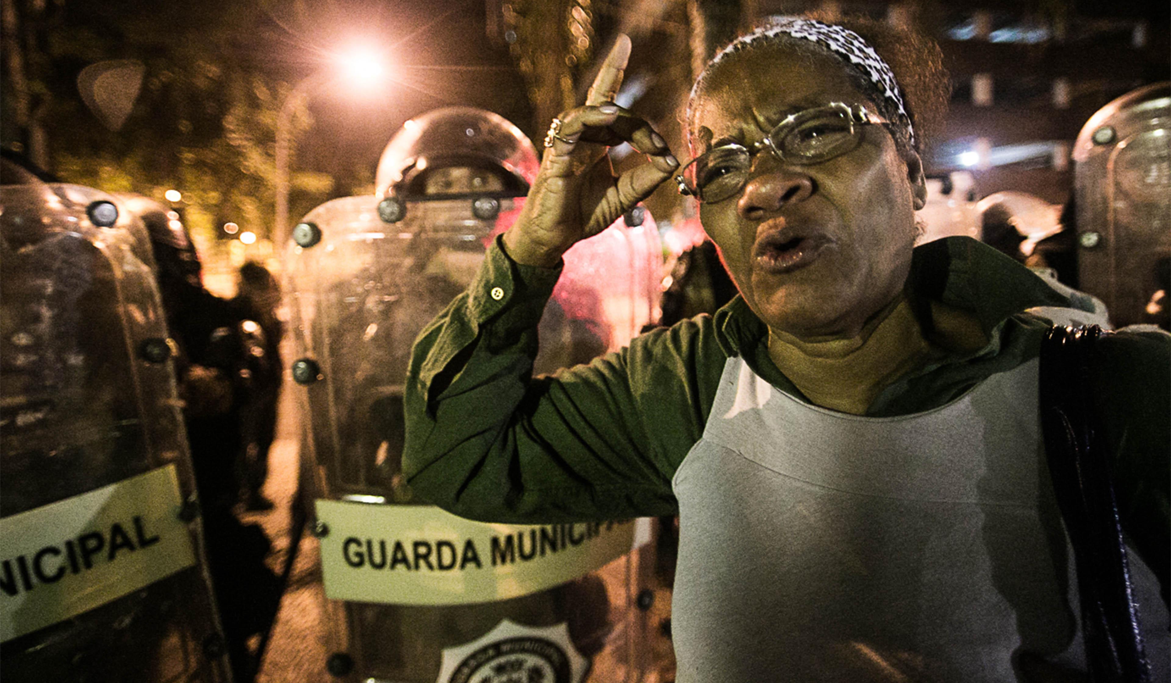 Photo from Mídia Ninja protest coverage