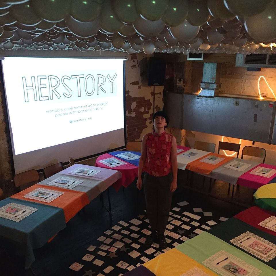 Alice at Herstory