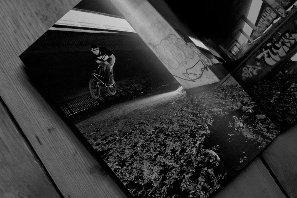 BlackBlock: New zine capturing BMX in striking black and white