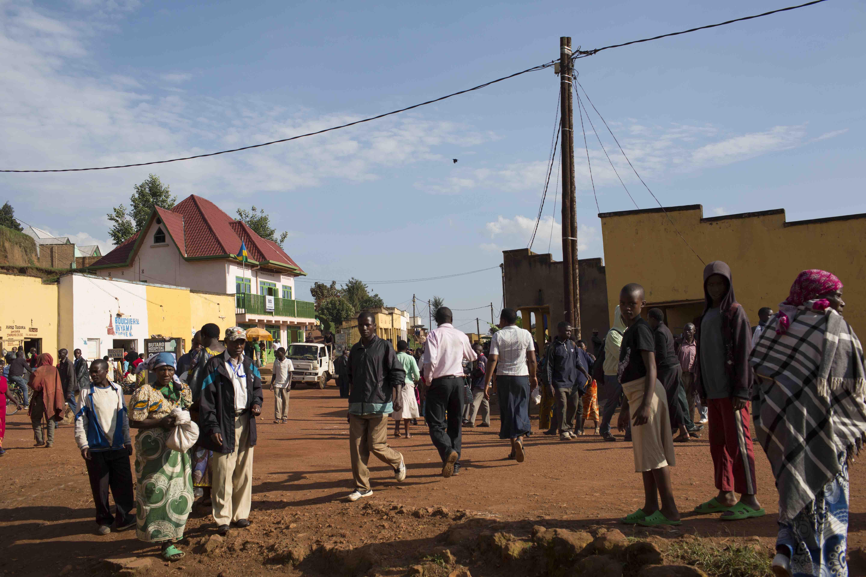 Butaro, a small town in northern Rwanda