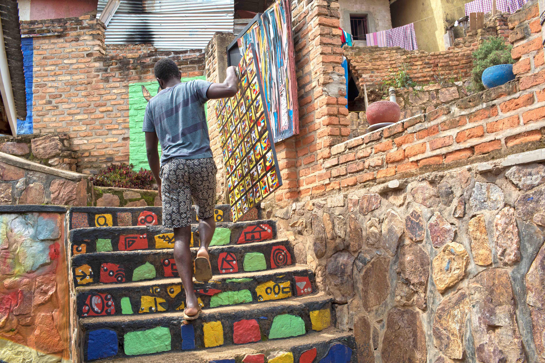 Ivuka Arts Centre, one of the examples or Rwanda's cultural resurgence