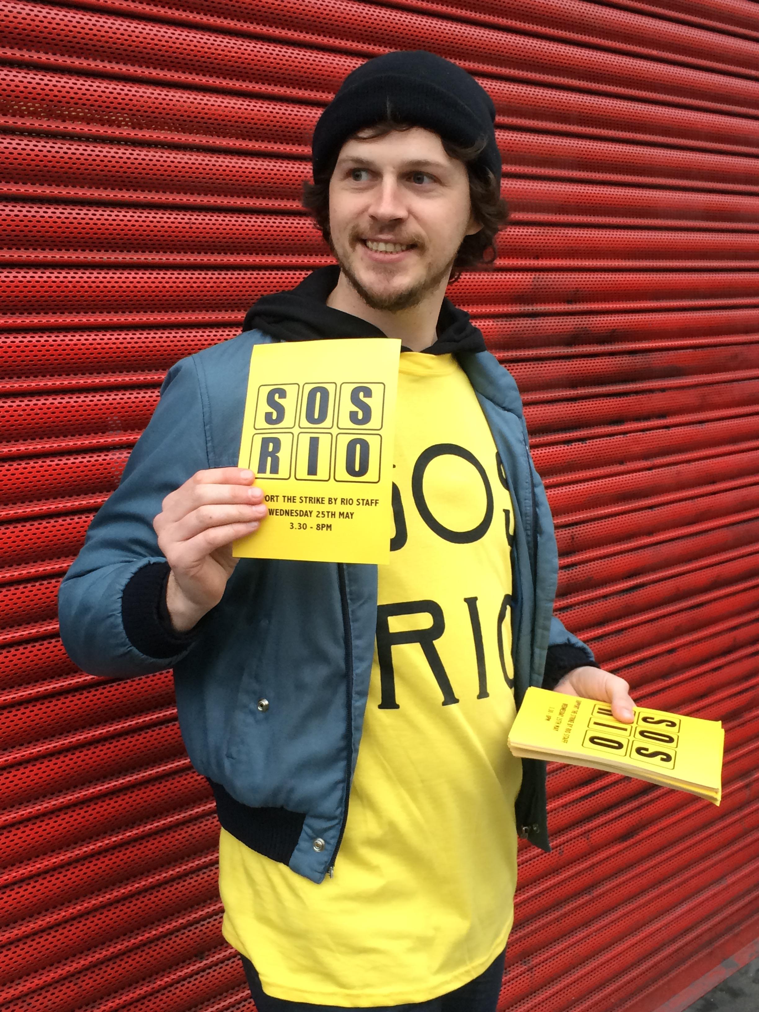 SOS Rio campaigner Photography Emily Gosling
