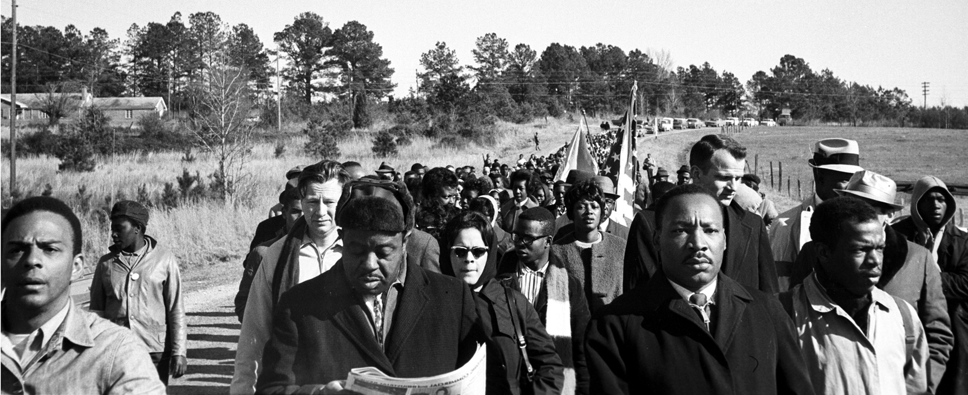 The Selma March, 1965, © Steve Schapiro