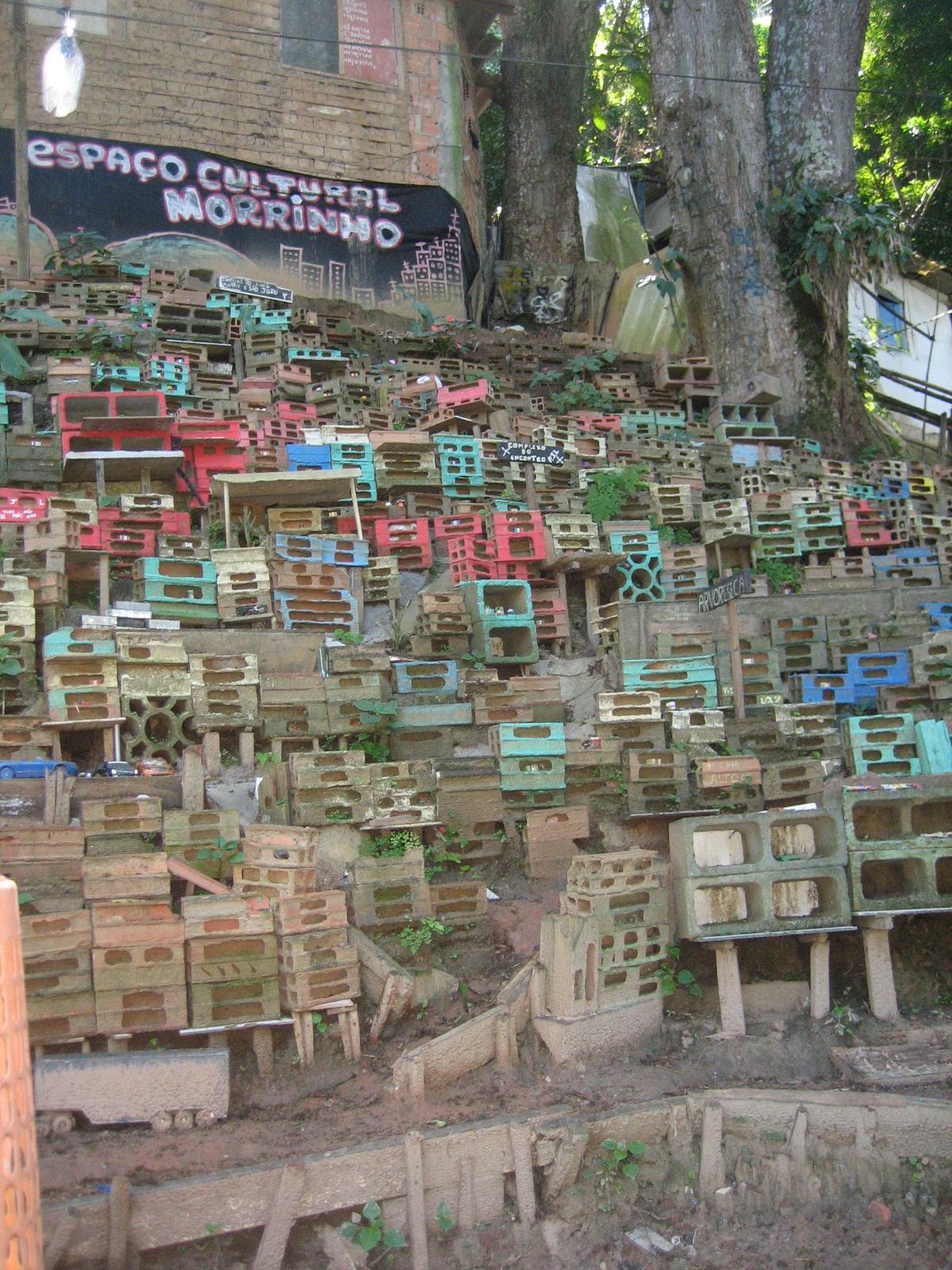 The Morrinho project in Favela Mare, Rio de Janeiro