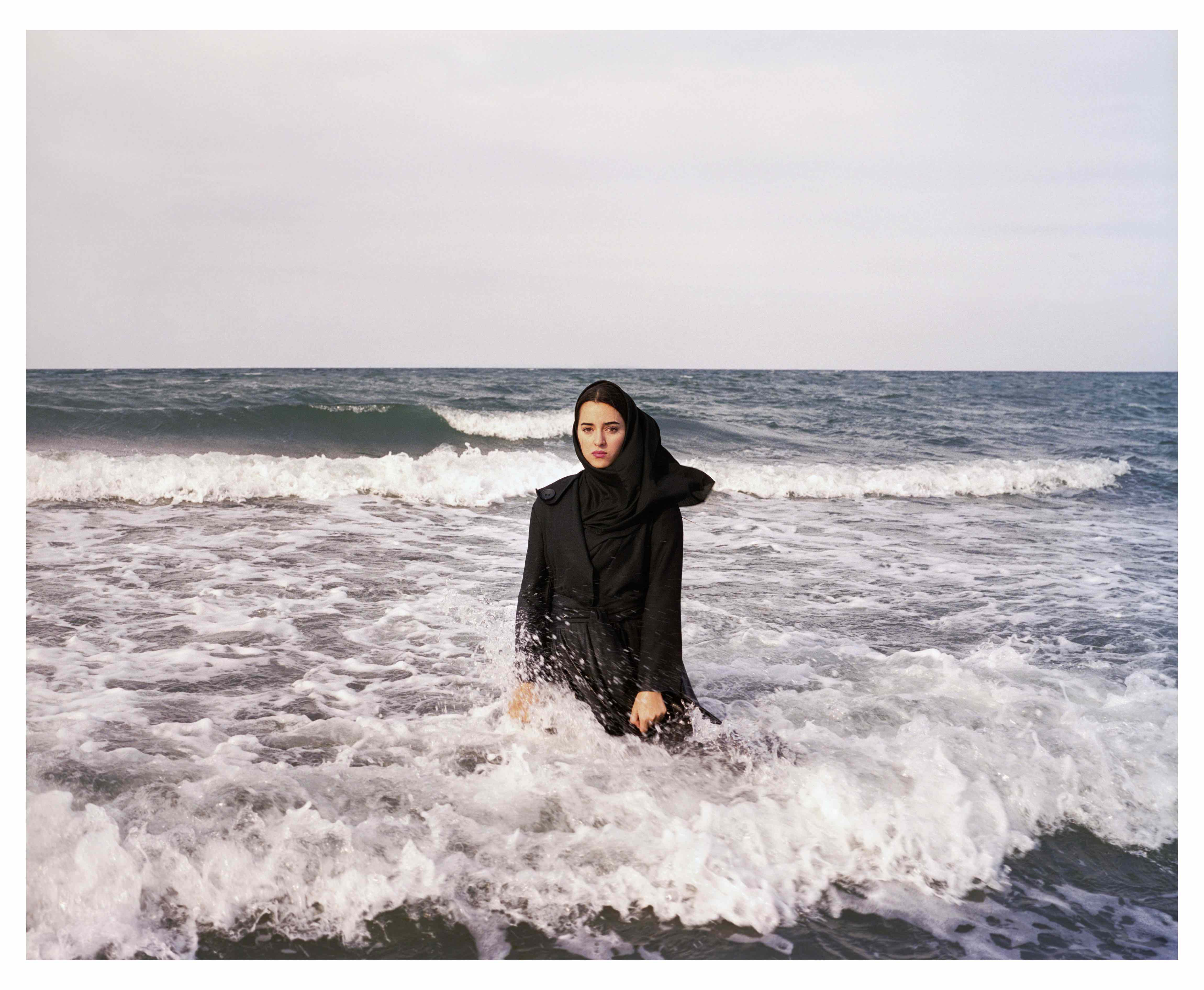 Iran. Mahmoudabad. Caspian Sea. 2011. Imaginary CD cover for Sahar © Newsha Tavakolian / Magnum Photos
