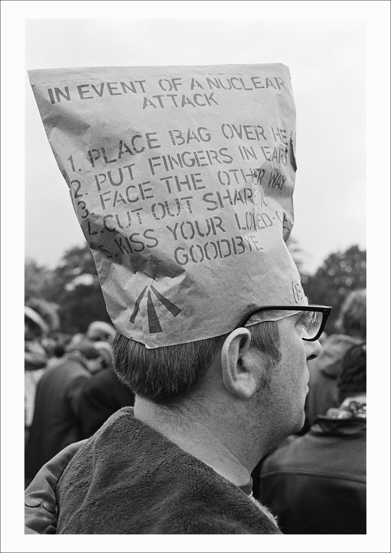 CND rally, Hyde Park, London, 1981