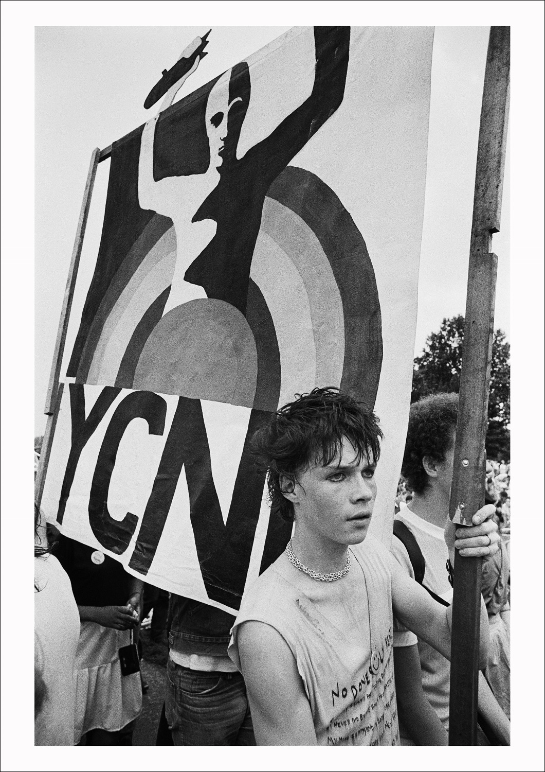 CND march and rally, Hyde Park, London, 1982