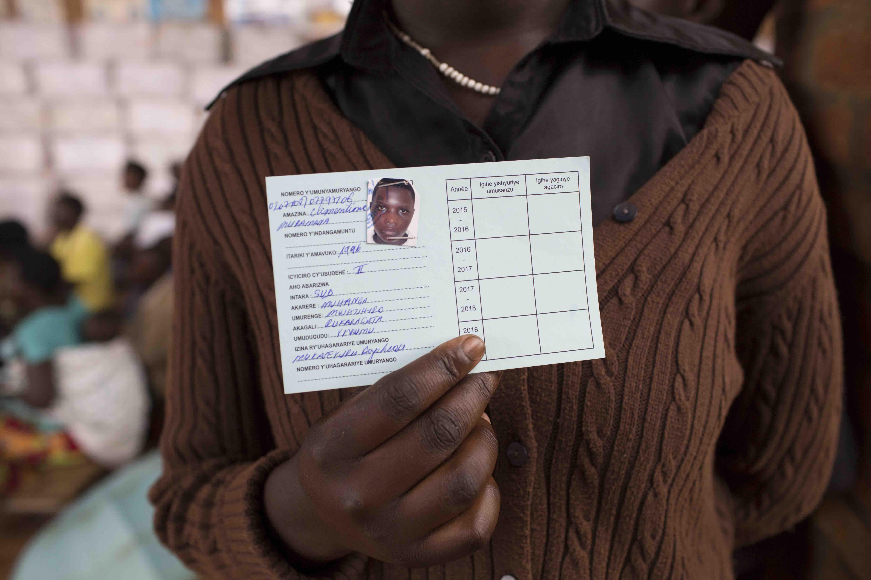 A Mutuelles De Sante Health Insurance Scheme ID Card