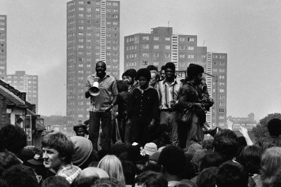 Syd Shelton Rock against Racism
