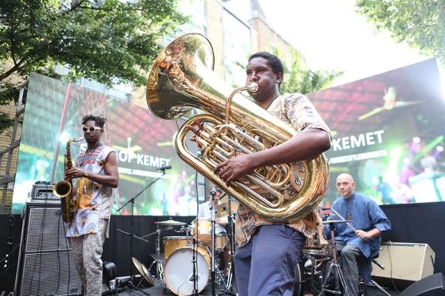 Sons of Kemet at African Street Style festival shot by Coco (Visionary Underground)