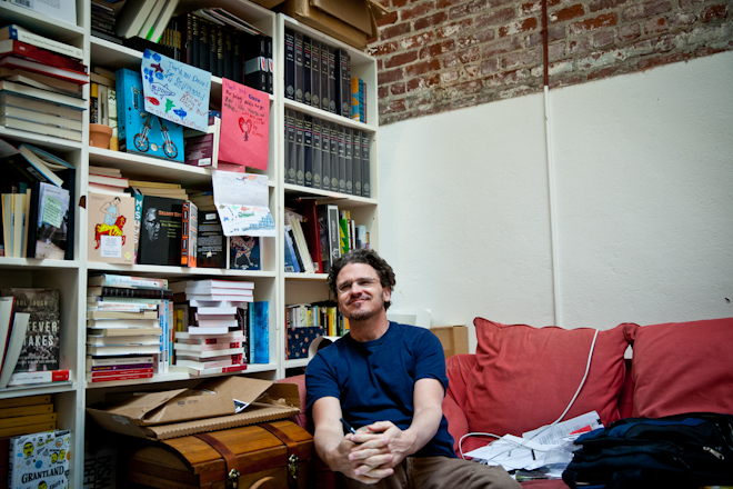 Dave Eggers' guide to a life of creativity, on your own terms