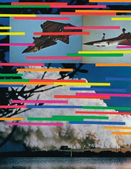 Yokoland: Untitled, personal project. Handmade collage, 2006