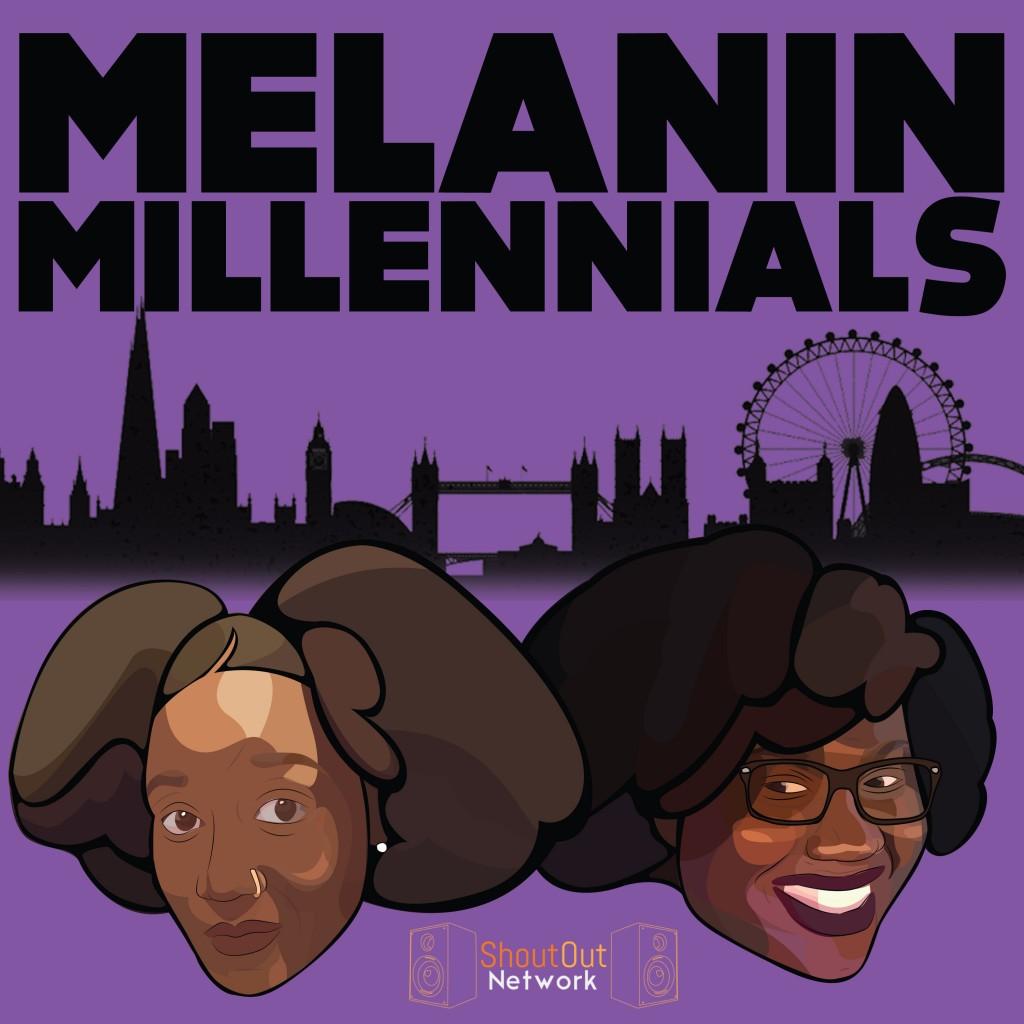 melanin millennials podcast logo